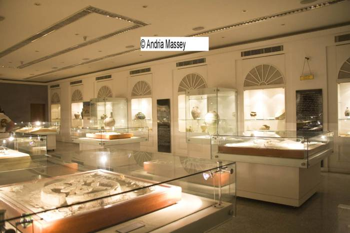Dubai United Arab Emirates  Exhibits in Sheikh Mohammed Bin Rashid Al Maktoum Hall in Dubai Museum