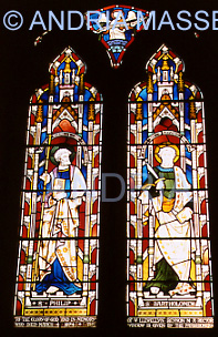 Seale Surrey Stained Glass Window in St Laurence Church