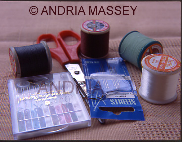 Selection of sewing aids