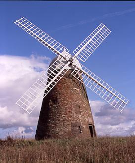 Halnaker West Sussex A restored 18thc Brick Tower Windmill