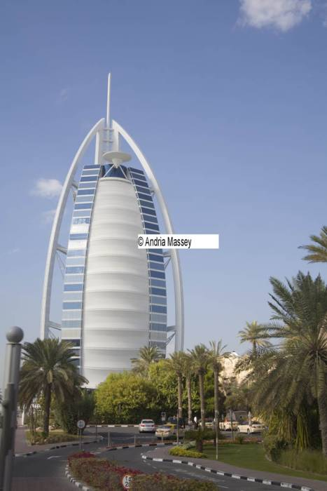 Dubai United Arab Emirates  The iconic building of Burj al Arab