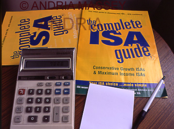 Calculator on ISA guides