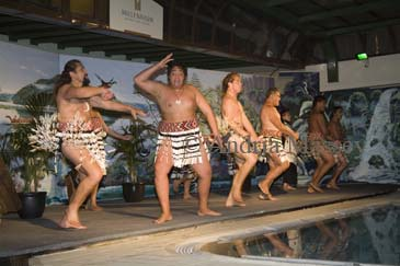 ROTORUA NORTH ISLAND NEW ZEALAND May A traditional Maori concert and dancing evening entertainment