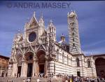 SIENA TUSCANY ITALY 12th -14thc white Duomo Cathedral