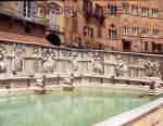 SIENA TUSCANY ITALY Fonte Gaia in Il Campo