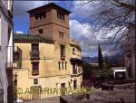 RONDA COSTA DEL SOL SPAIN La Casa del Rey Moro - House of the Moorish King - one of the many old houses in this pretty town