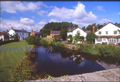 River Arrow at Eardisland Herefordshire  Format: 35mm