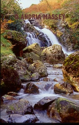 Mosedale Beck Waterfall - Lake District  Format: 35mm