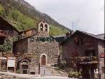 Sant Cerni Church at Llorts Andorra  Format: Medium