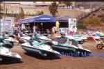 Jet skis on the beach - Playa D�Ingles Gran Canaria  Format: 35mm