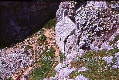 St Govan�s Chapel Pembrokeshire  Format: 35mm